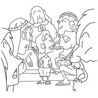 Kostenlose Ausmalbilder Zur Bibel Free Coloring Sheets Of