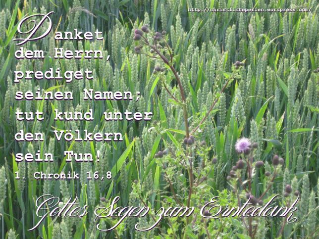 Image Result For Christliche Zitate Erntedankfest