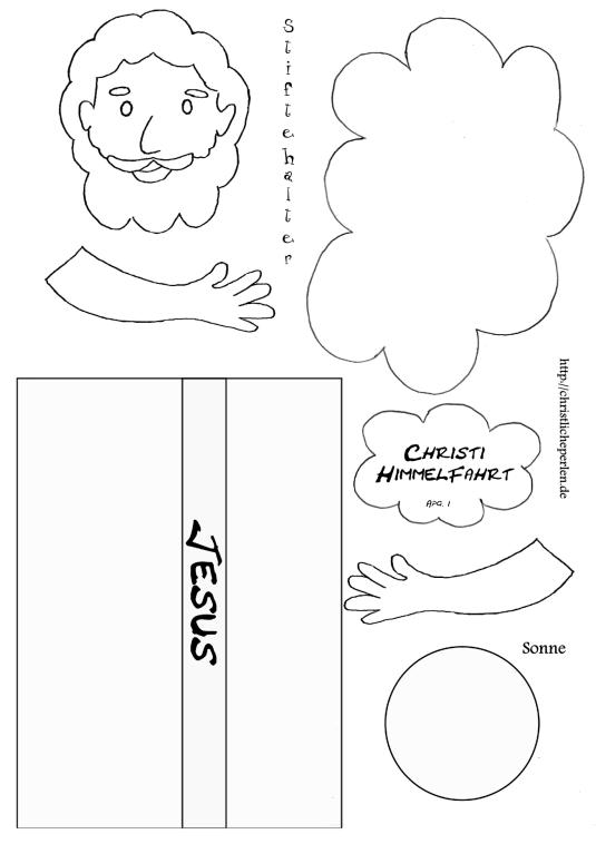 Himmelfahrtbasteln