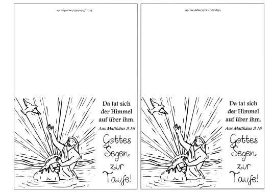 zweiTaufkarten