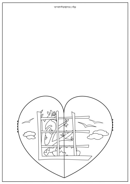 Herzkarte basteln