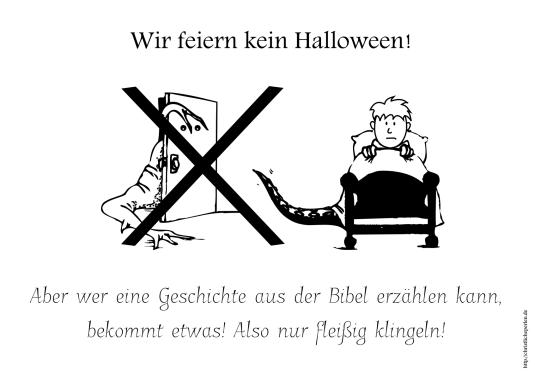 Halloween Türschild