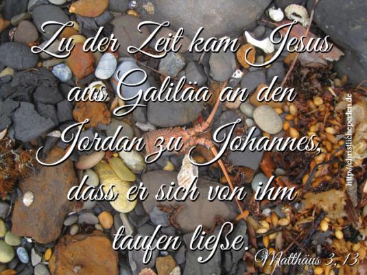 Taufe 1