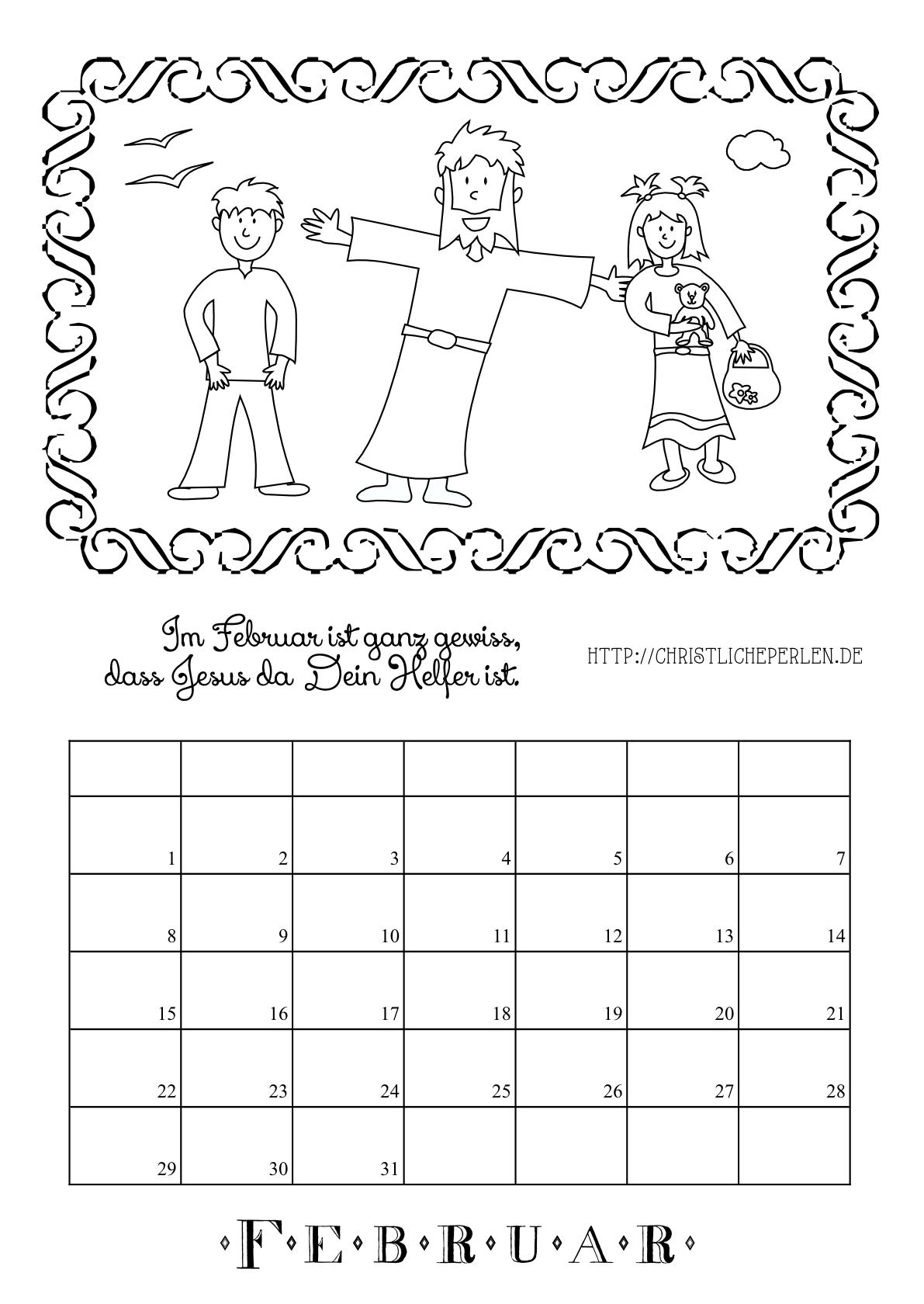 kalender zum ausdrucken und ausmalen christliche perlen. Black Bedroom Furniture Sets. Home Design Ideas