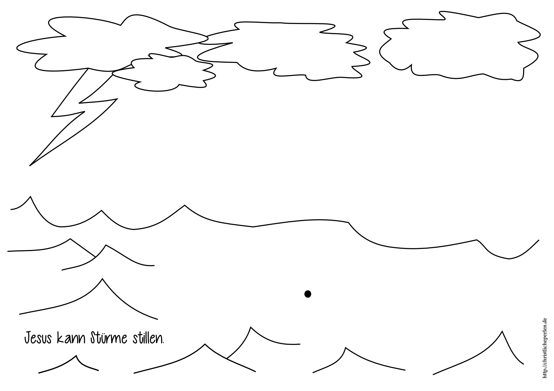 Basteln zu Wasser / Strand / Meer | Christliche Perlen