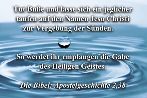 Apostelgeschichte 2 38