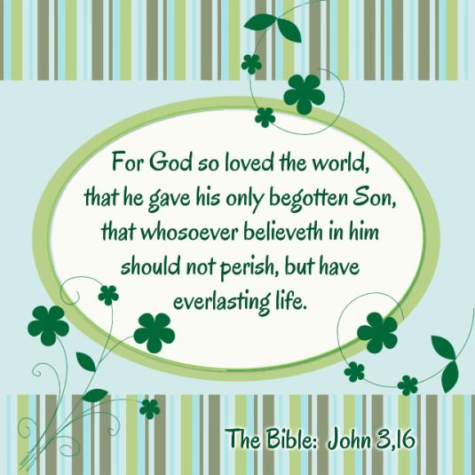 John 3 16