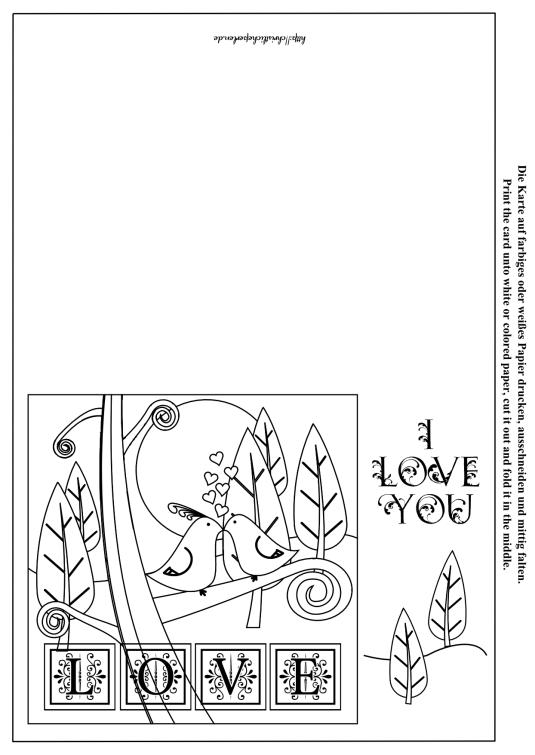 Liebe Karte