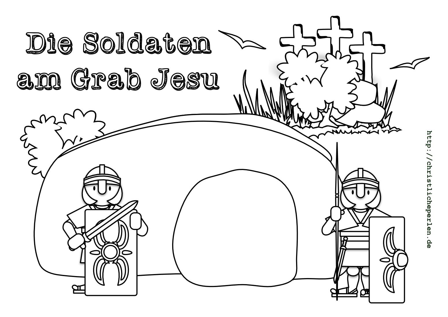 Begräbnis Jesu | Christliche Perlen