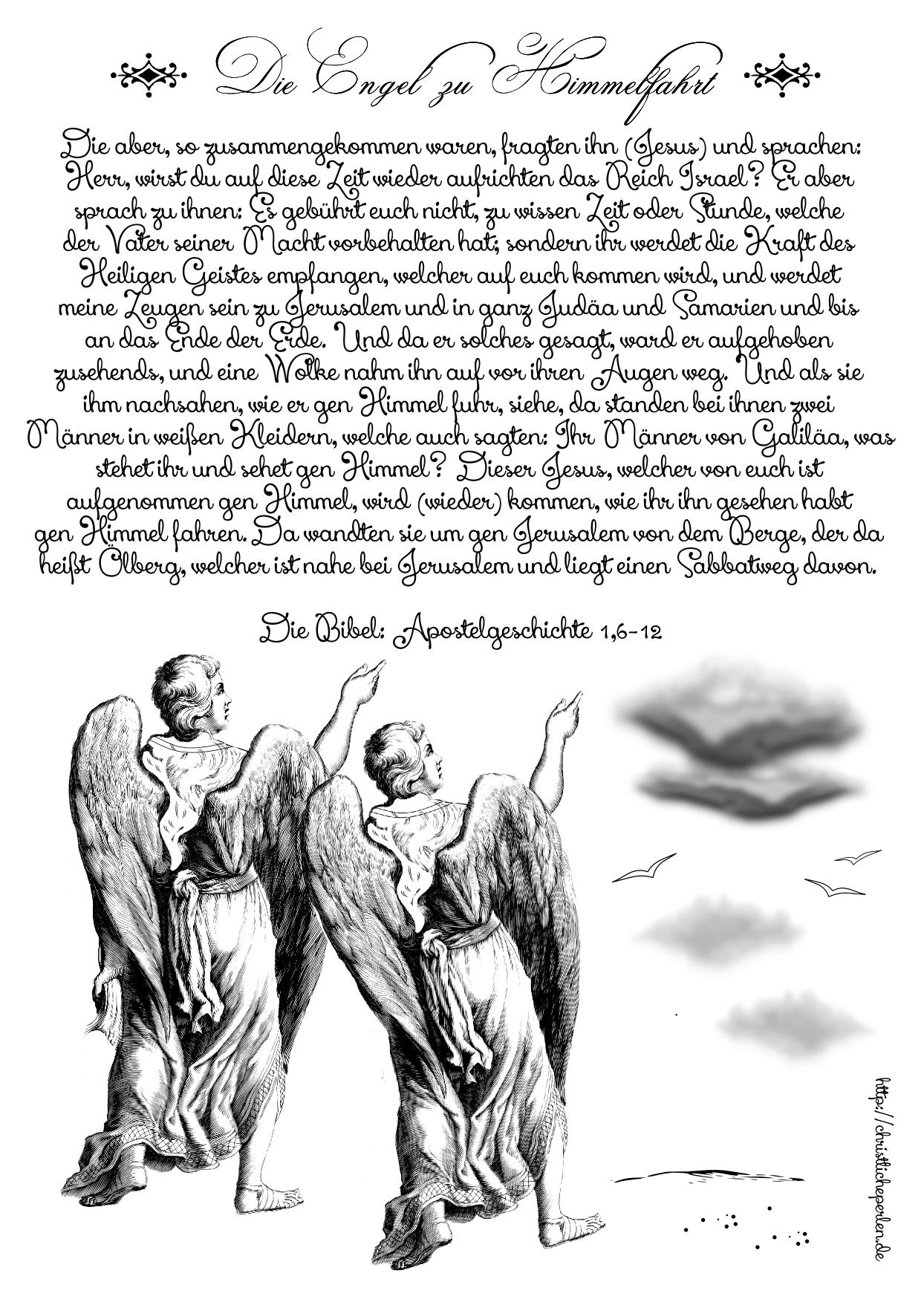 Himmelfahrt Engel