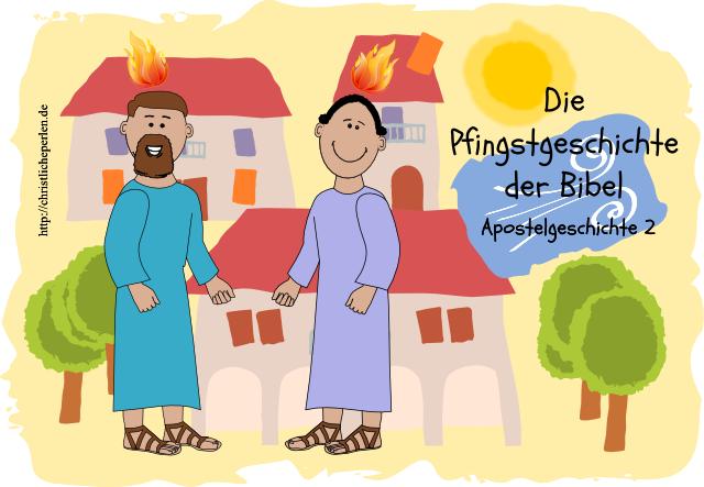 Pfingsten Karte 1