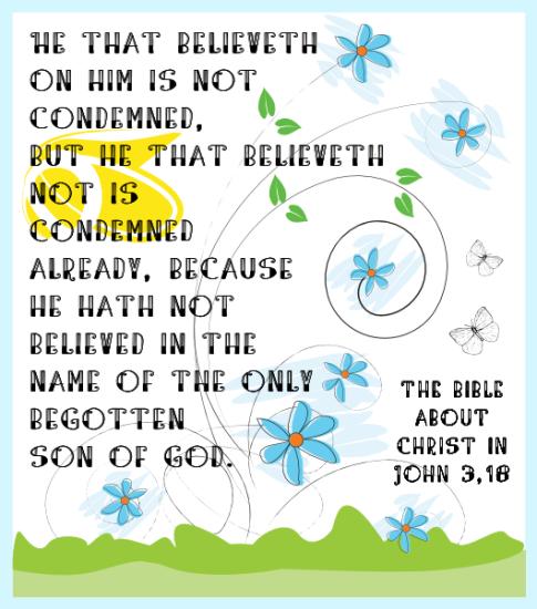 John 3 18