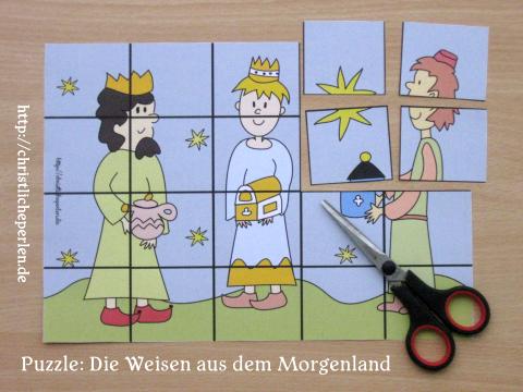 weise-morgenland-puzzle-basteln