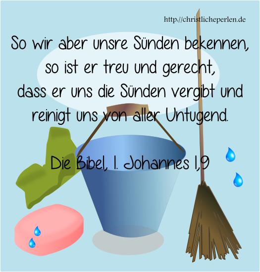 Putzen und waschen in der Bibel | Christliche Perlen