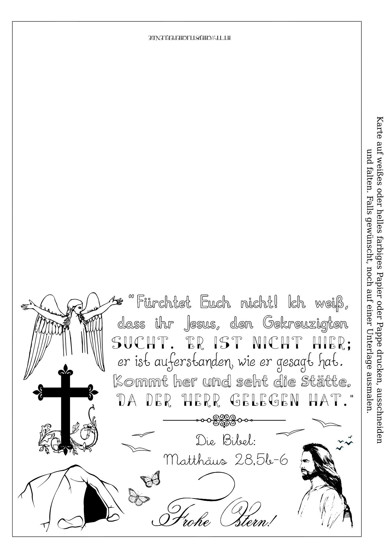 Basteln zu Ostern   Christliche Perlen