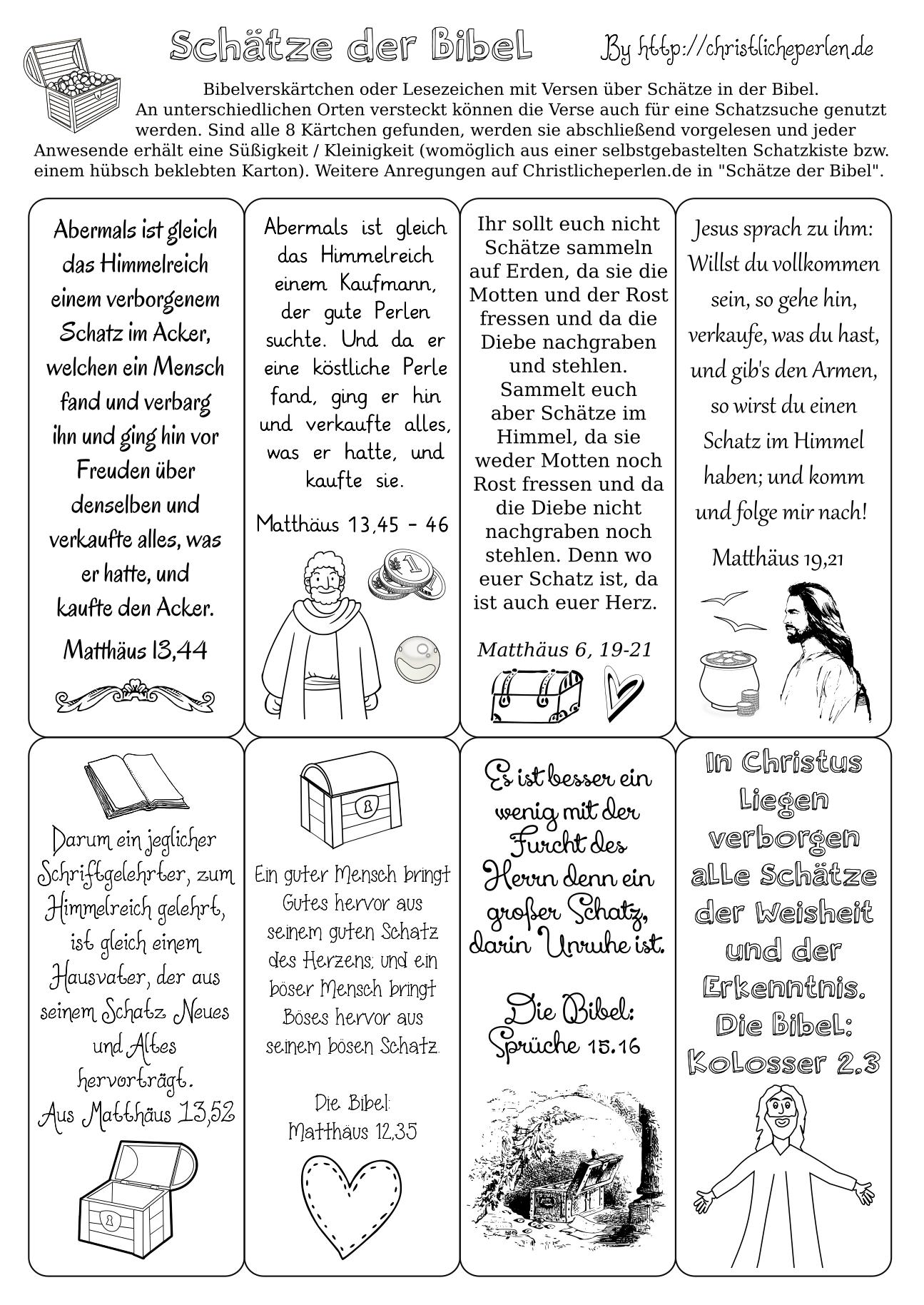 Lesezeichen basteln | Christliche Perlen