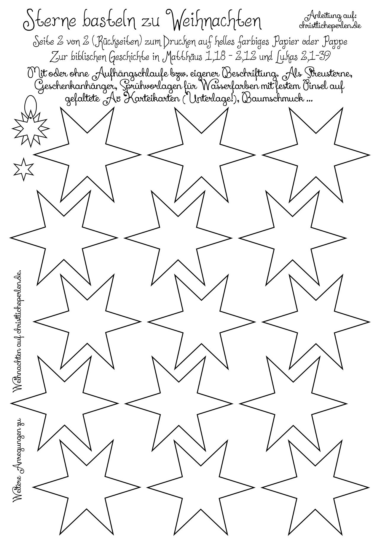 Geschenkanhänger zu Weihnachten | Christliche Perlen