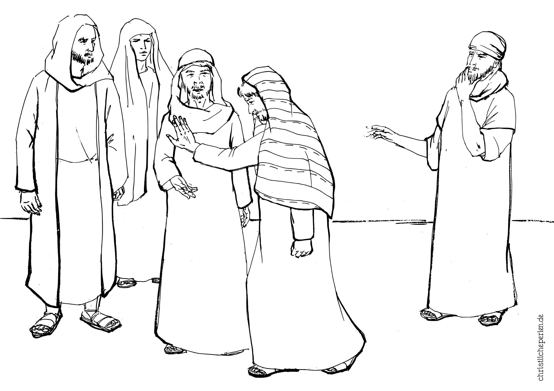 Ausmalbilder Zu Ostern Christliche Perlen
