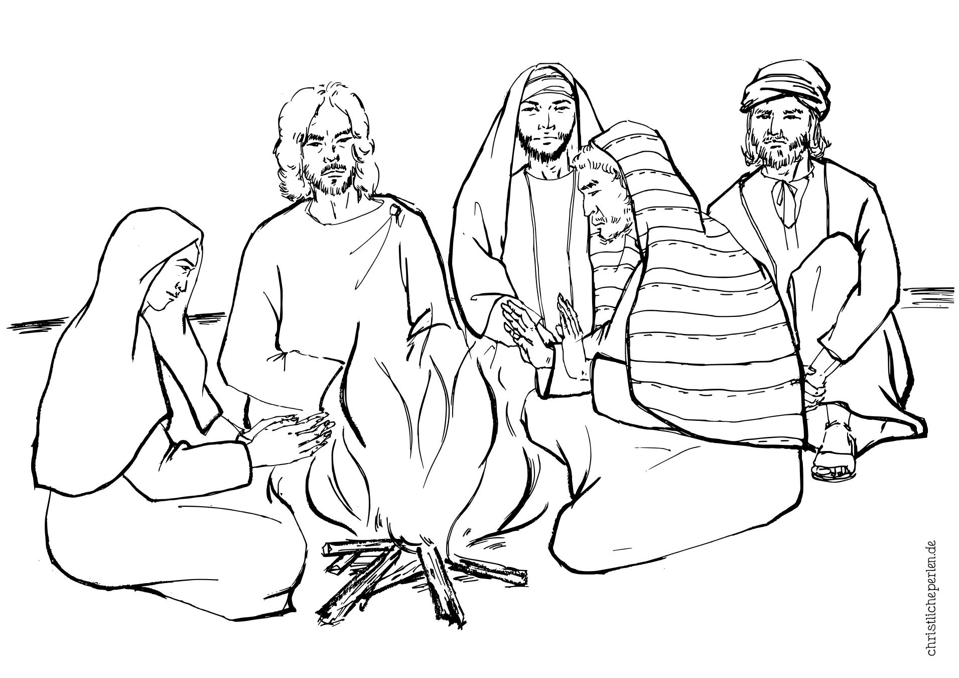Ausmalbilder zu Ostern | Christliche Perlen
