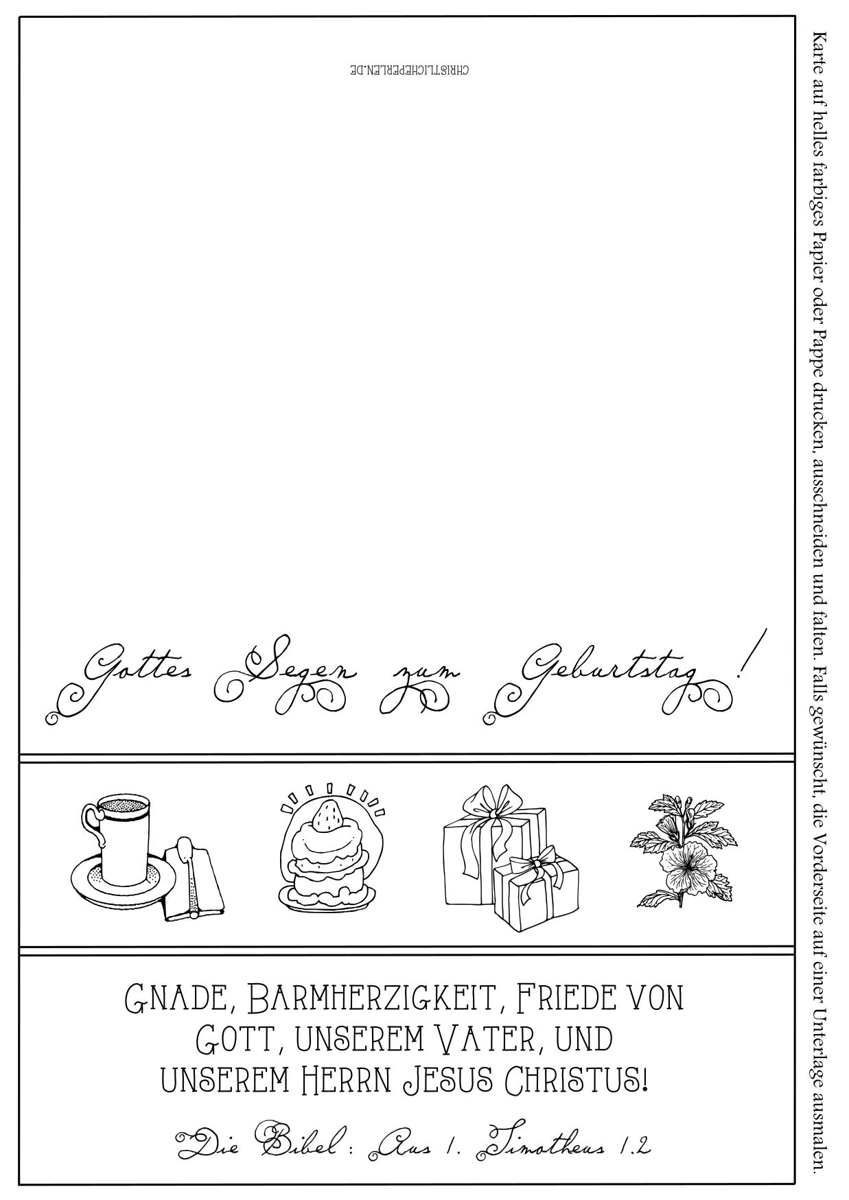 Karten zum geburtstag ausdrucken