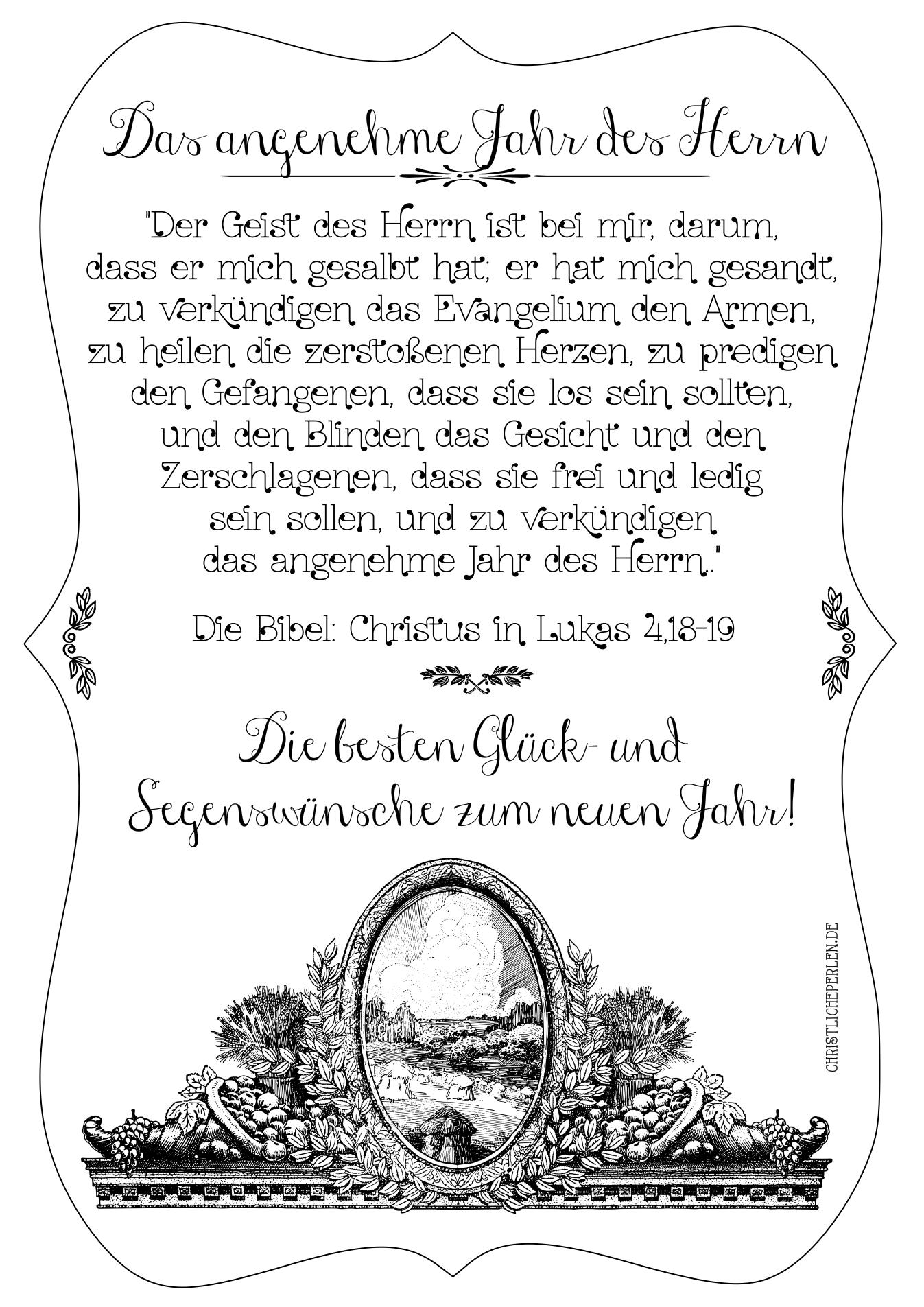Segenswünsche Christliche Perlen