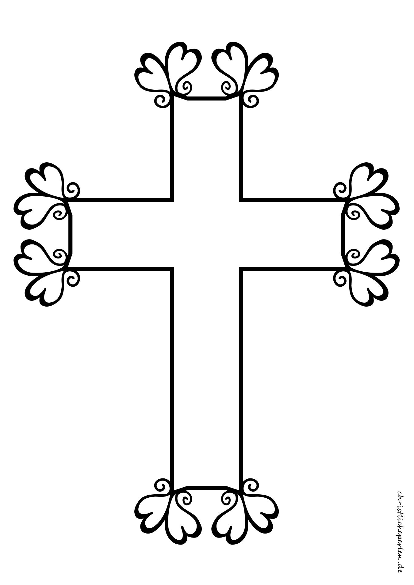 Digitale Grafik Kreuz Christlich Kreativzauber