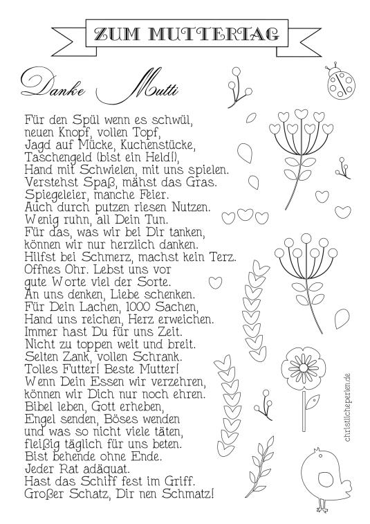 Muttertagsgedicht Gedichte Muttertag Gedichte 2019 06 07
