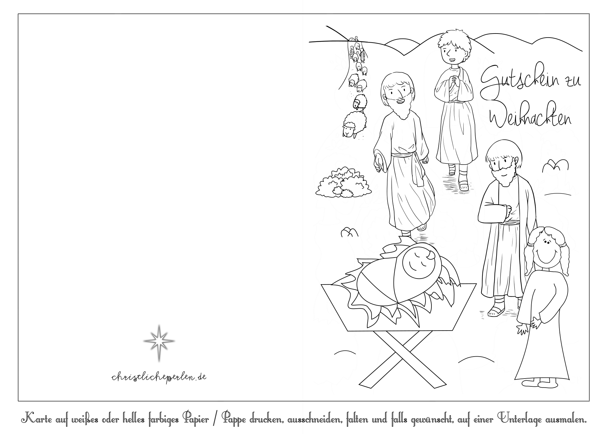 Hirten Zu Weihnachten Christliche Perlen