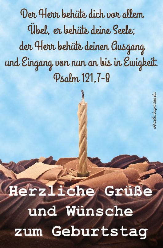 Zum geburtstag segenssprüche christliche Religiöse und