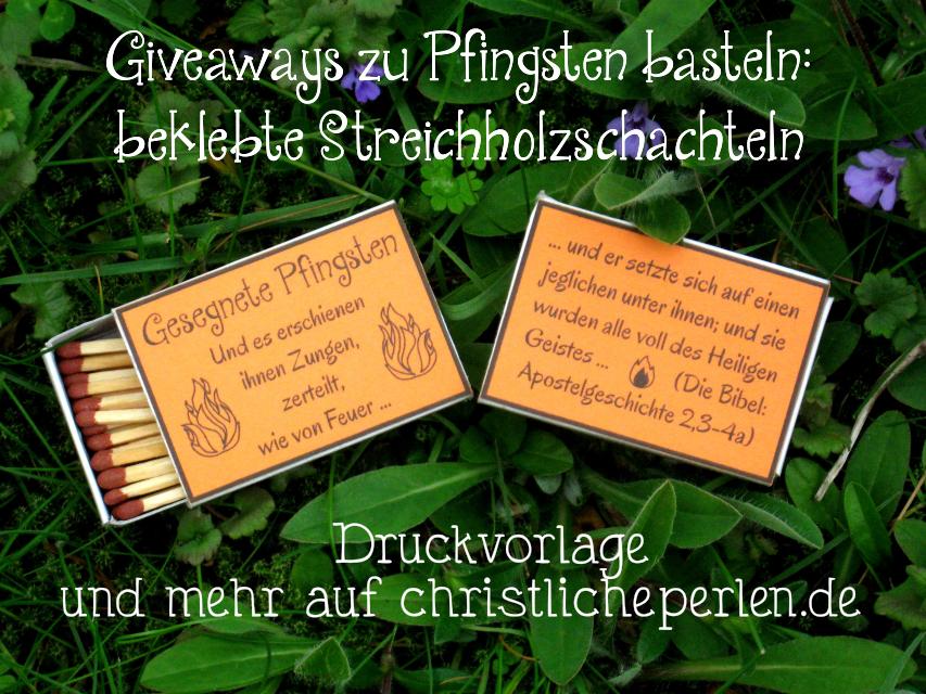 Pfingsten Giveaway
