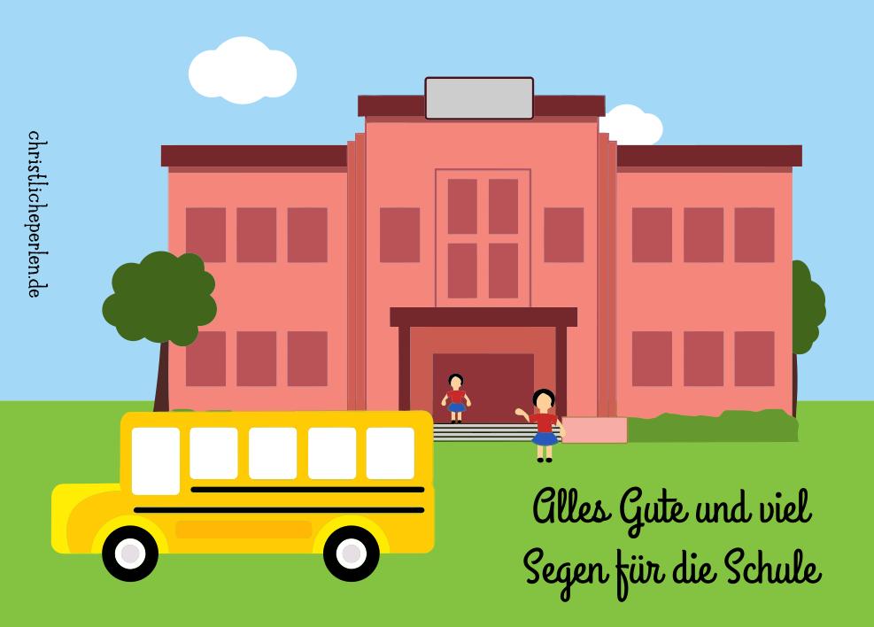 Alles Gute für die Schule