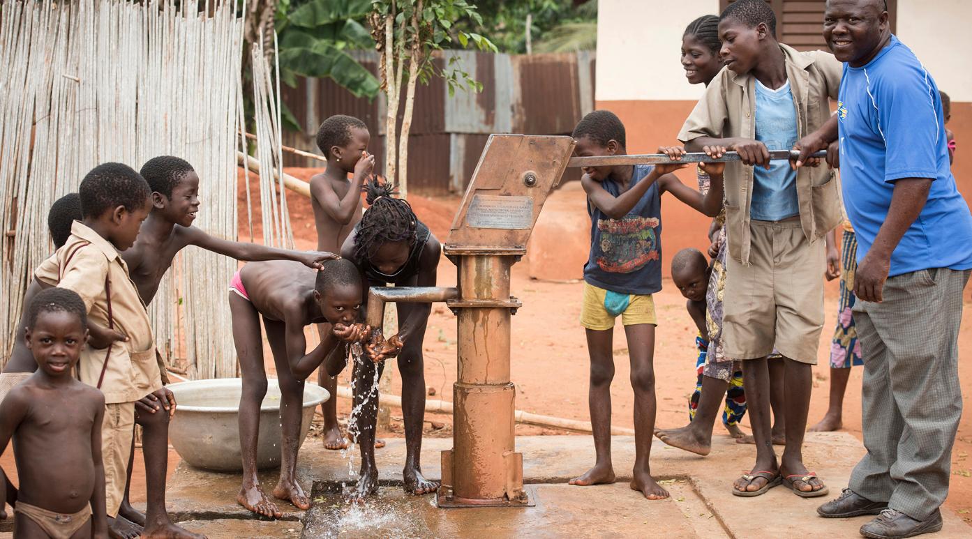 GAiN Brunnen Afrika